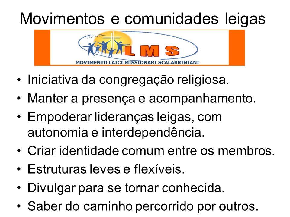 Movimentos e comunidades leigas