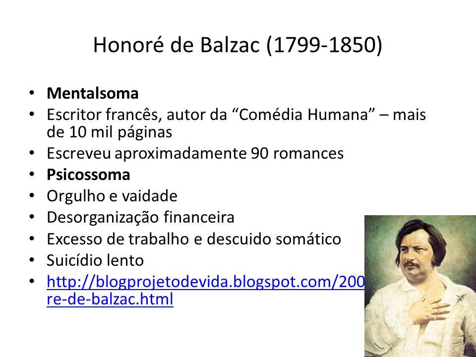 Honoré de Balzac (1799-1850) Mentalsoma
