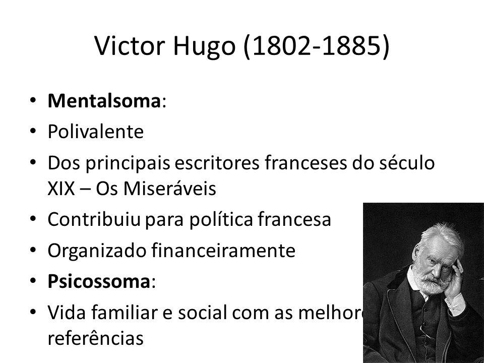 Victor Hugo (1802-1885) Mentalsoma: Polivalente