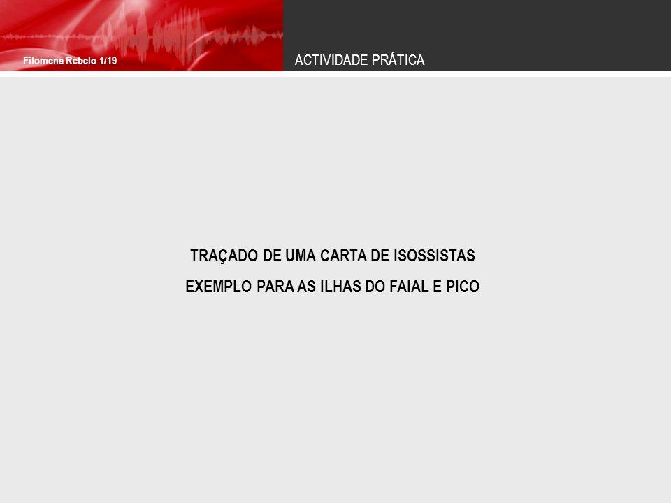 TRAÇADO DE UMA CARTA DE ISOSSISTAS