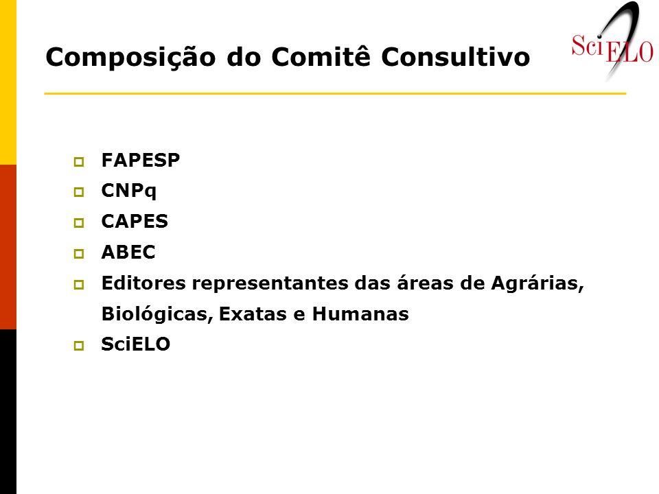 Composição do Comitê Consultivo