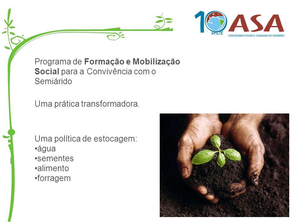 Programa de Formação e Mobilização Social para a Convivência com o Semiárido