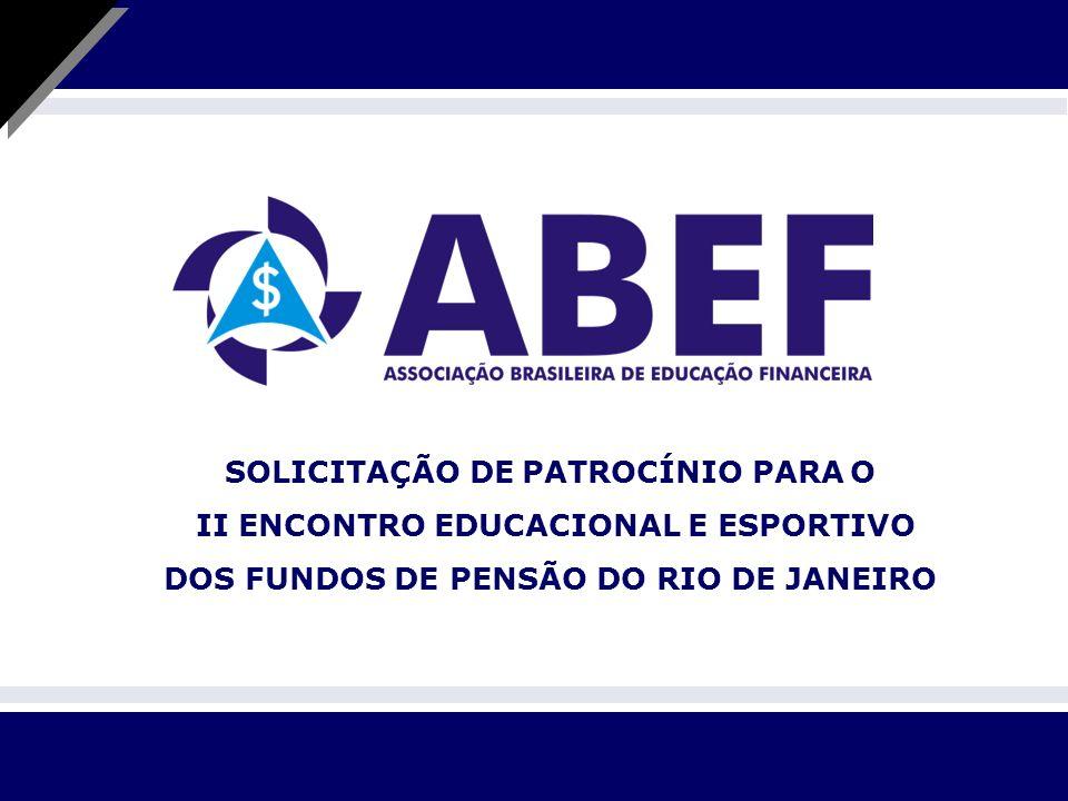 SOLICITAÇÃO DE PATROCÍNIO PARA O II ENCONTRO EDUCACIONAL E ESPORTIVO