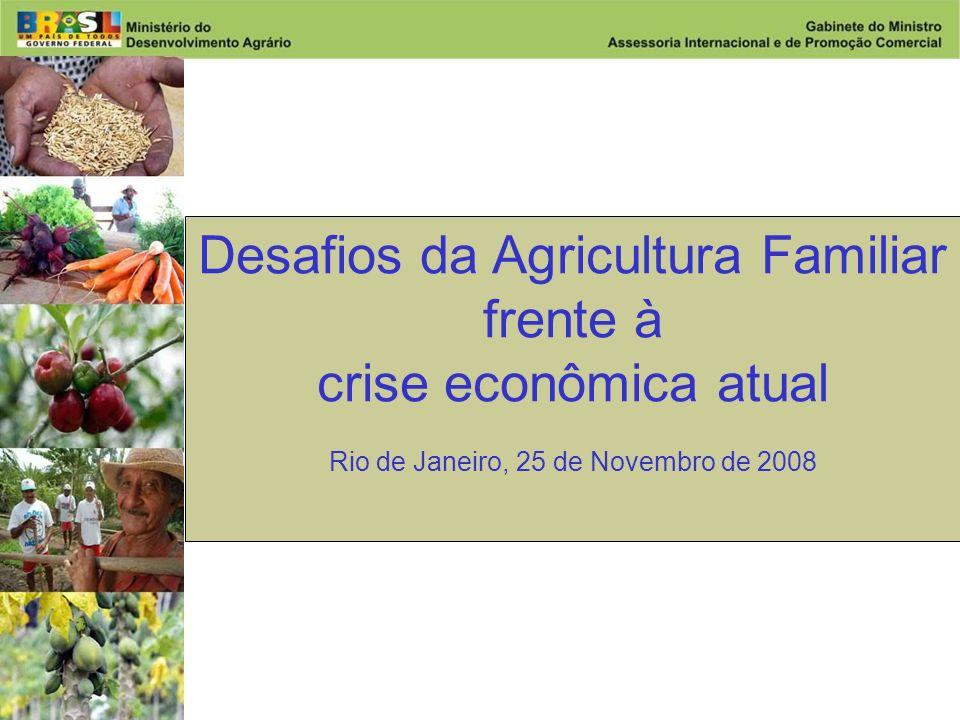 Desafios da Agricultura Familiar frente à crise econômica atual