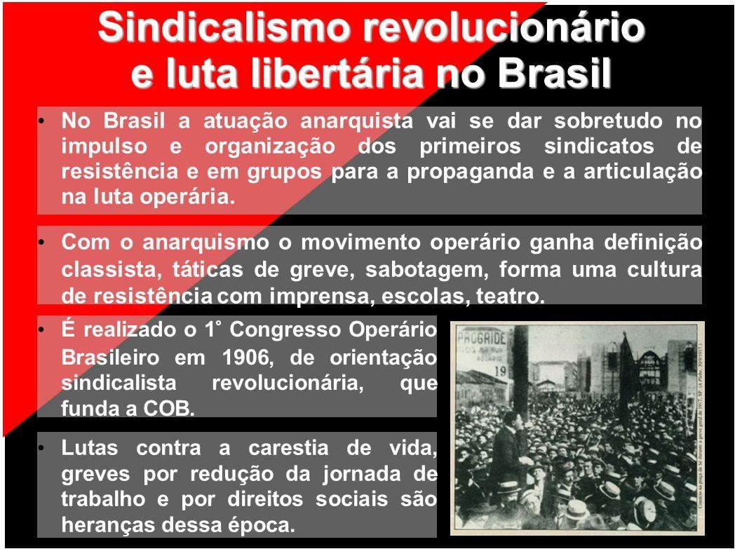 Sindicalismo revolucionário e luta libertária no Brasil
