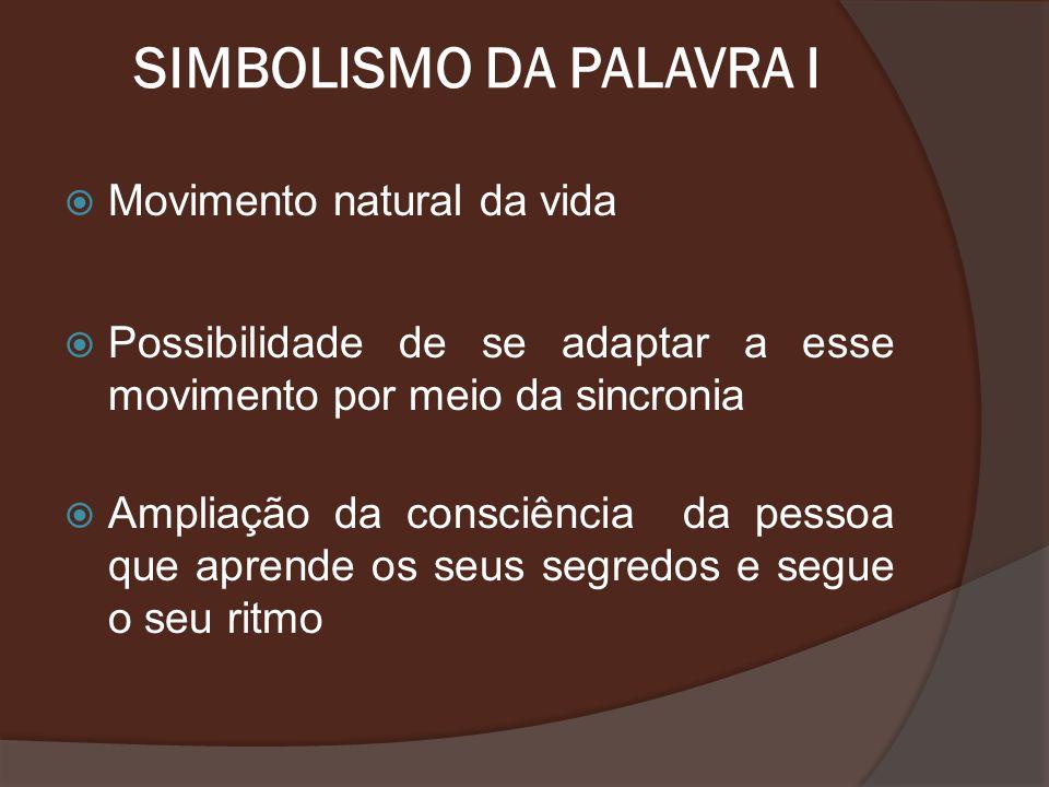 SIMBOLISMO DA PALAVRA I