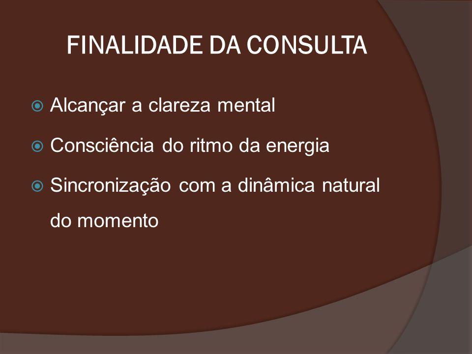 FINALIDADE DA CONSULTA