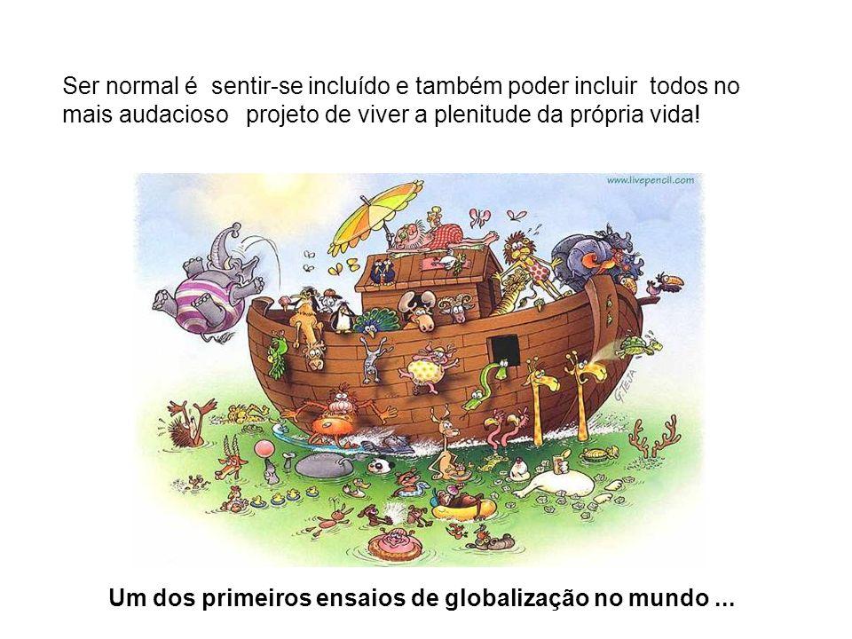 Um dos primeiros ensaios de globalização no mundo ...