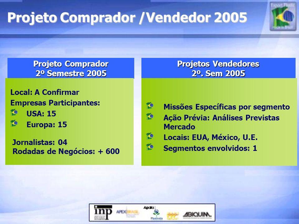 Projeto Comprador /Vendedor 2005