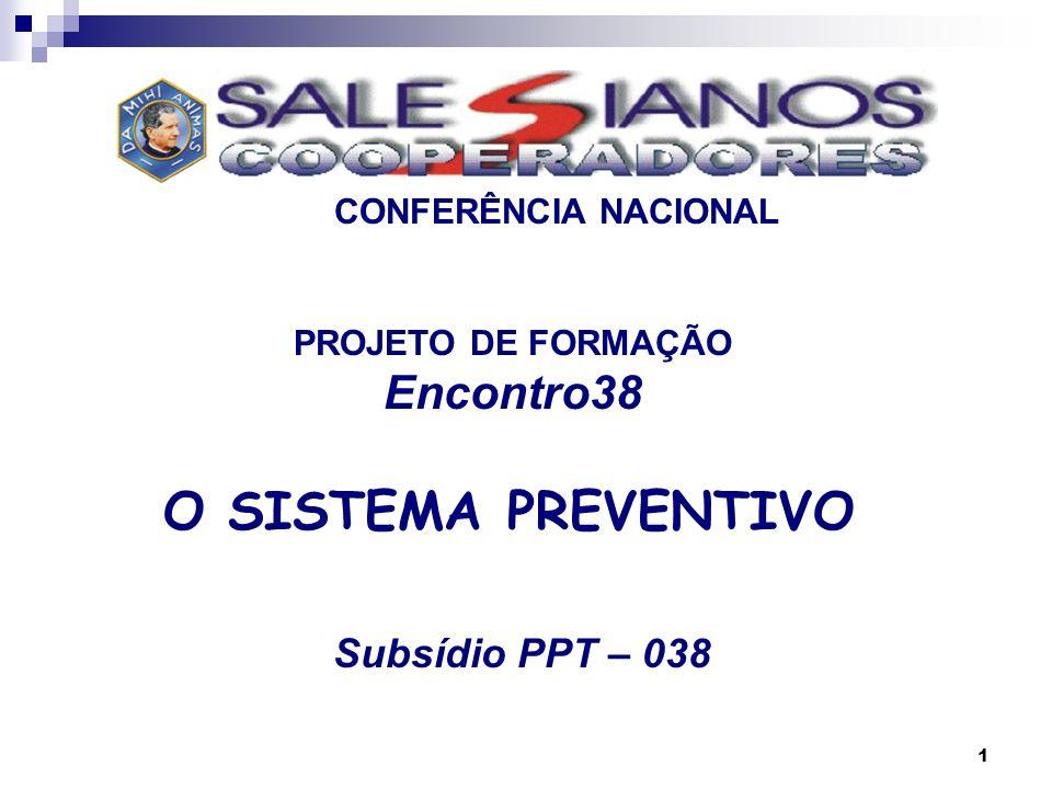 PROJETO DE FORMAÇÃO Encontro38