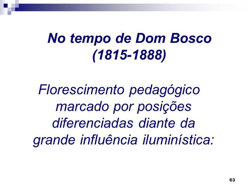 No tempo de Dom Bosco (1815-1888)