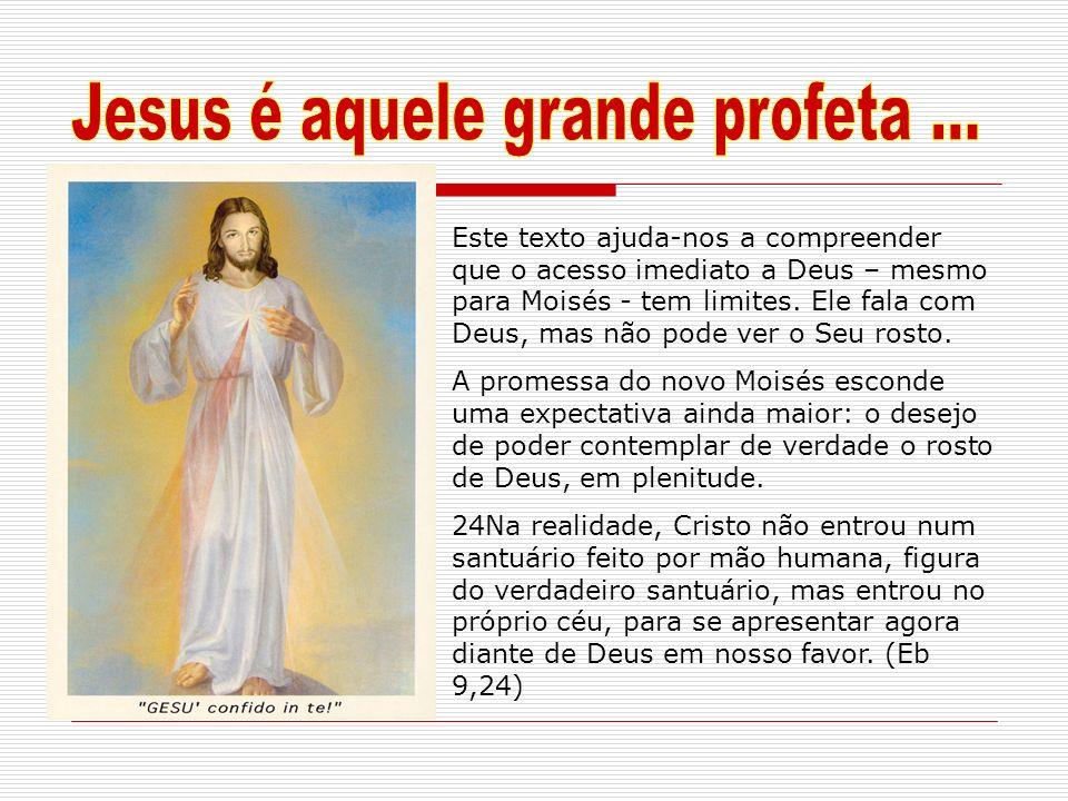 Jesus é aquele grande profeta ...