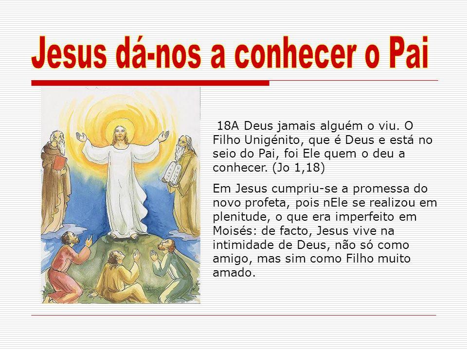 Jesus dá-nos a conhecer o Pai