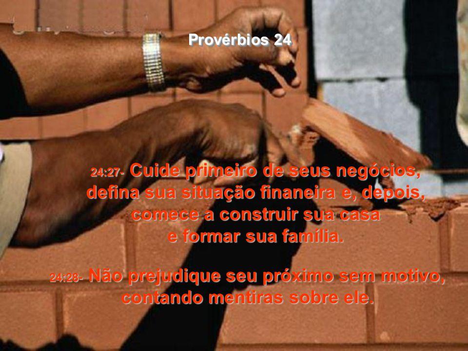 Provérbios 24