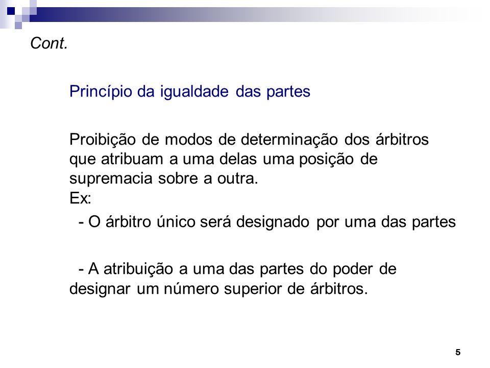 Princípio da igualdade das partes