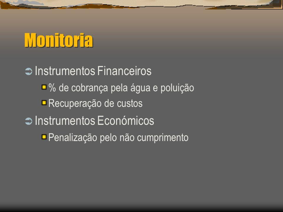Monitoria Instrumentos Financeiros Instrumentos Económicos