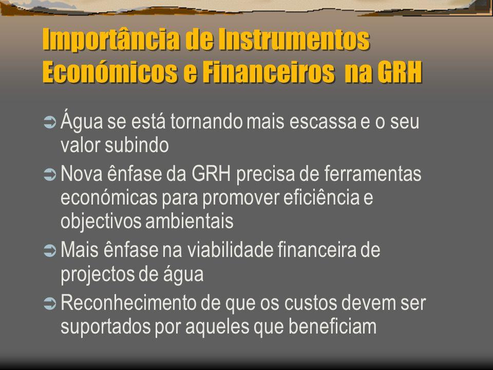 Importância de Instrumentos Económicos e Financeiros na GRH