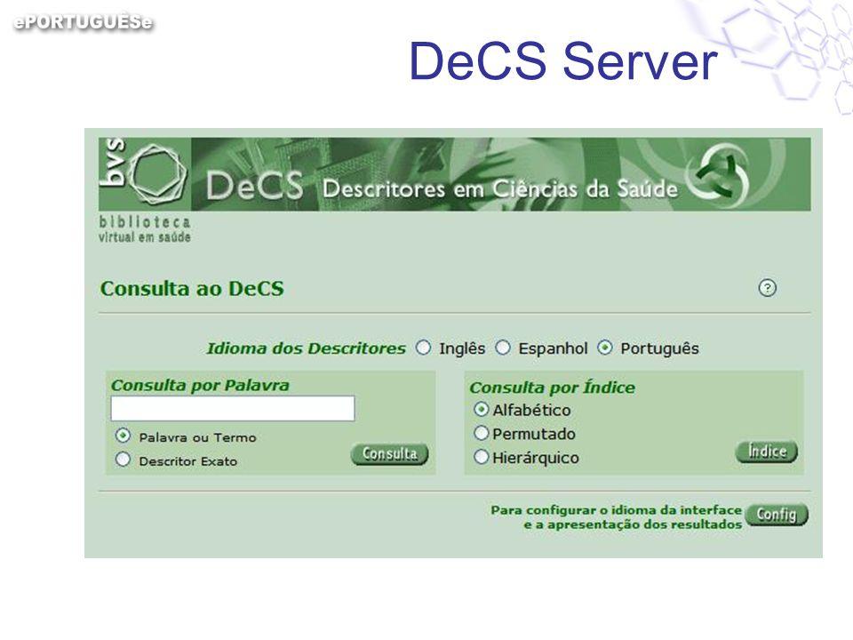 DeCS Server