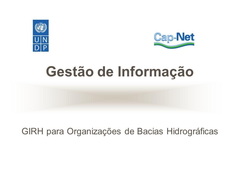 GIRH para Organizações de Bacias Hidrográficas
