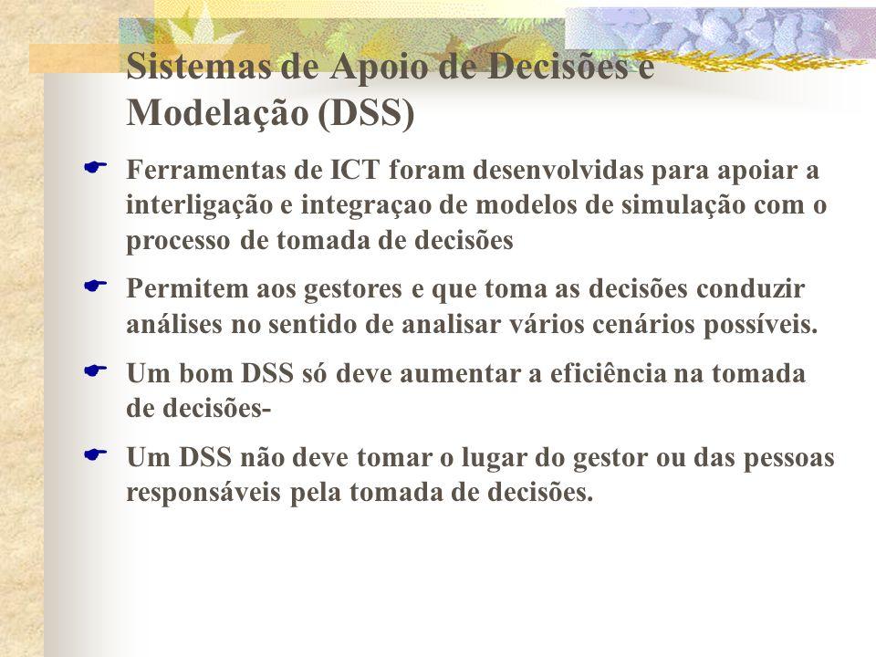 Sistemas de Apoio de Decisões e Modelação (DSS)