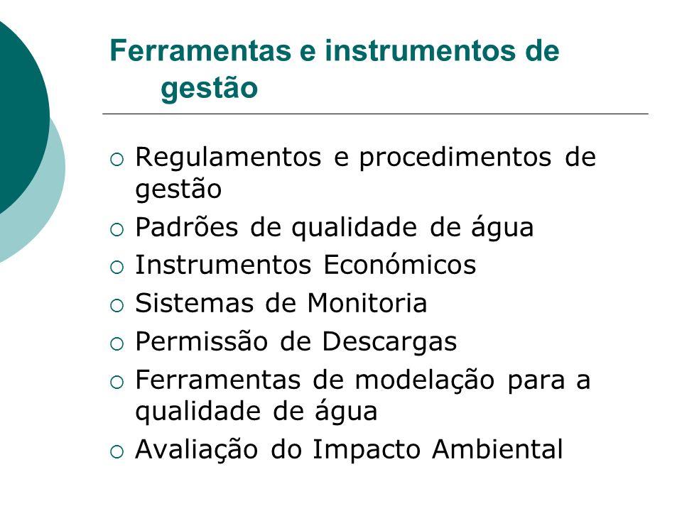 Ferramentas e instrumentos de gestão