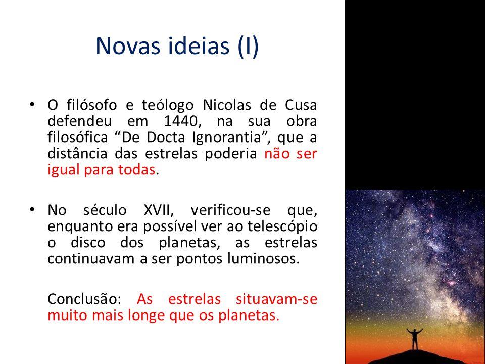 Novas ideias (I)
