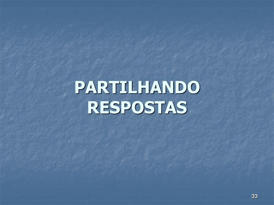 PARTILHANDO RESPOSTAS