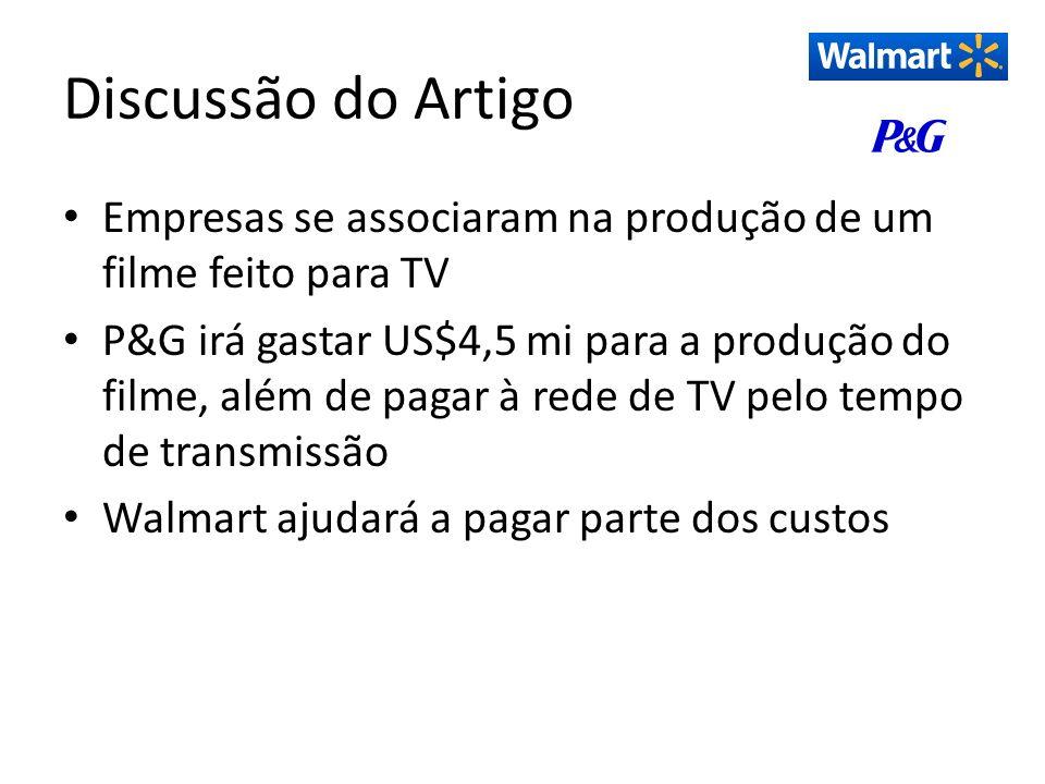 Discussão do ArtigoEmpresas se associaram na produção de um filme feito para TV.