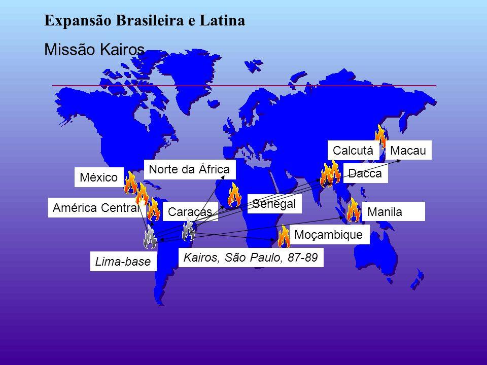 Expansão Brasileira e Latina Missão Kairos