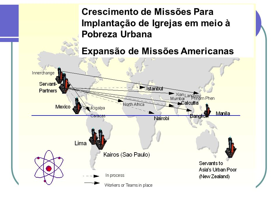 Crescimento de Missões Para Implantação de Igrejas em meio à Pobreza Urbana