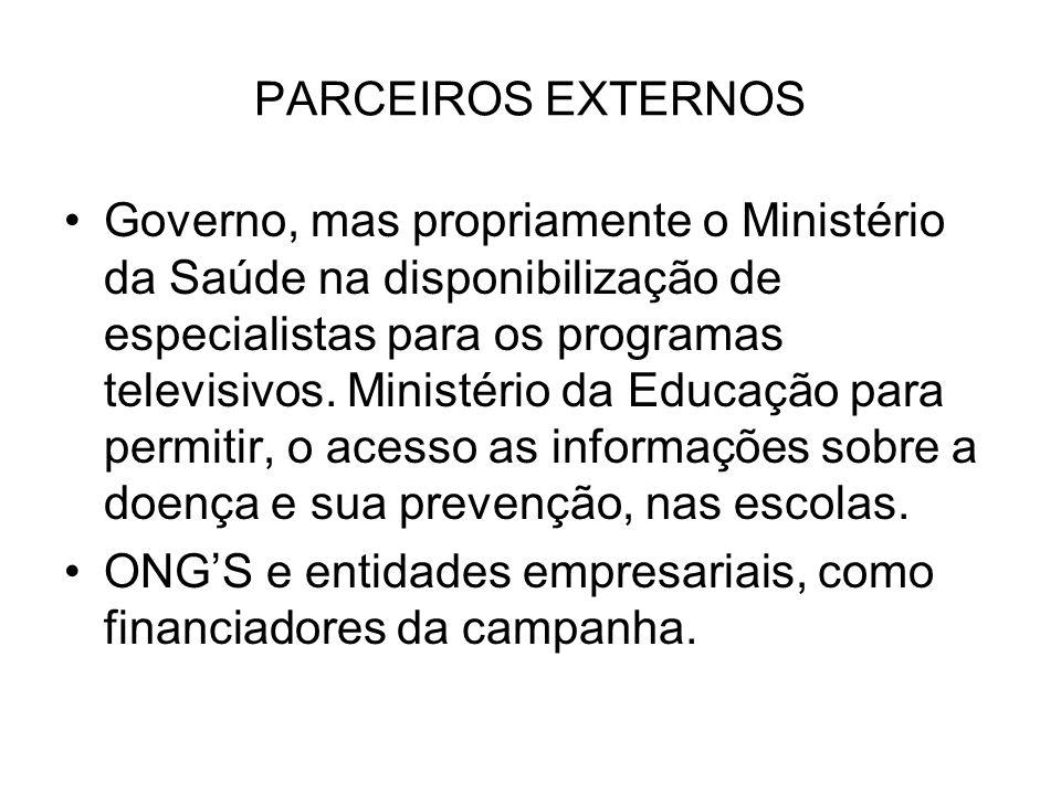 PARCEIROS EXTERNOS