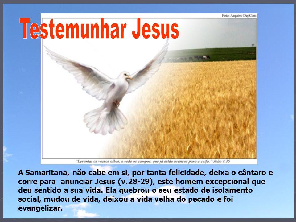 Testemunhar Jesus