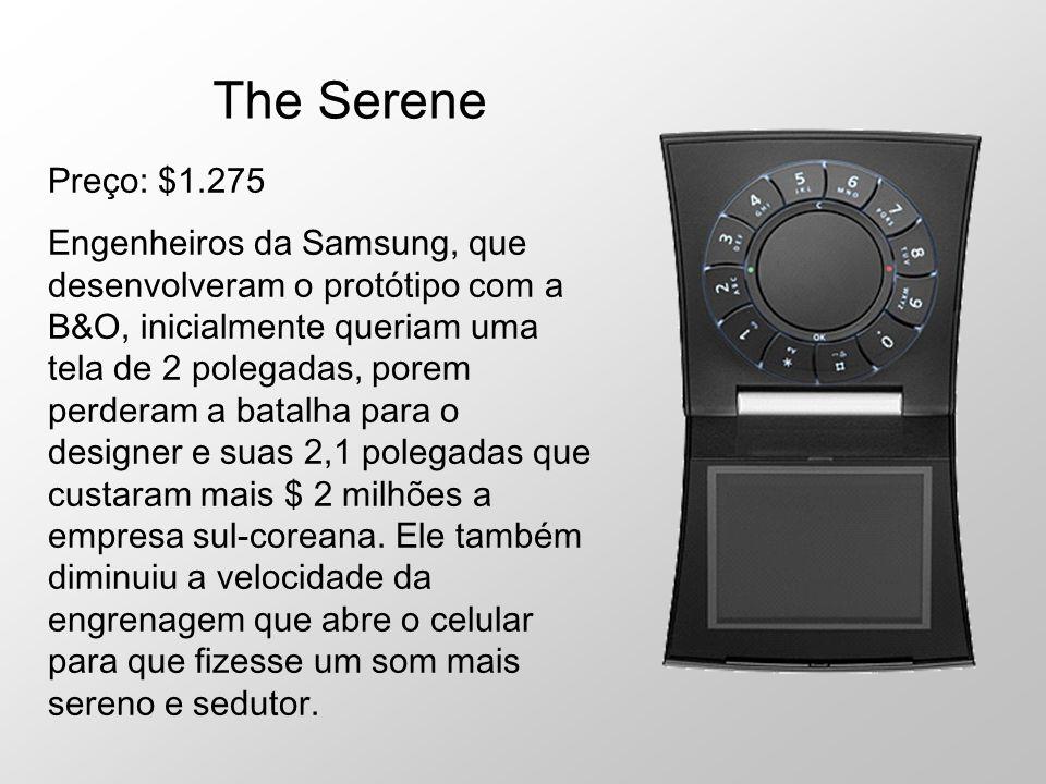 The Serene Preço: $1.275.