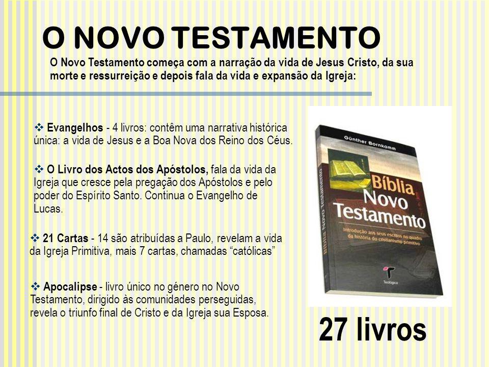 27 livros O NOVO TESTAMENTO