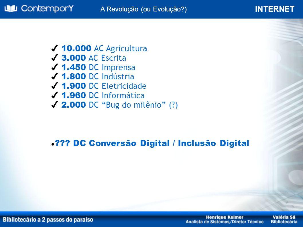 DC Conversão Digital / Inclusão Digital
