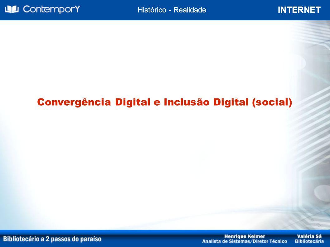 Convergência Digital e Inclusão Digital (social)