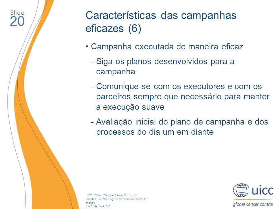 20 Características das campanhas eficazes (6)