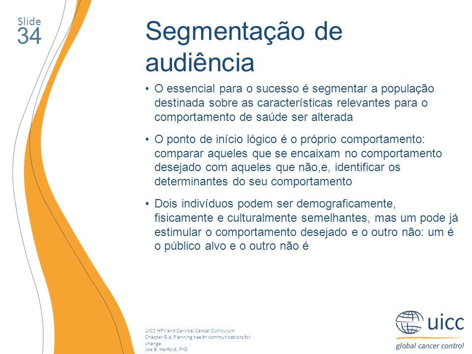Segmentação de audiência