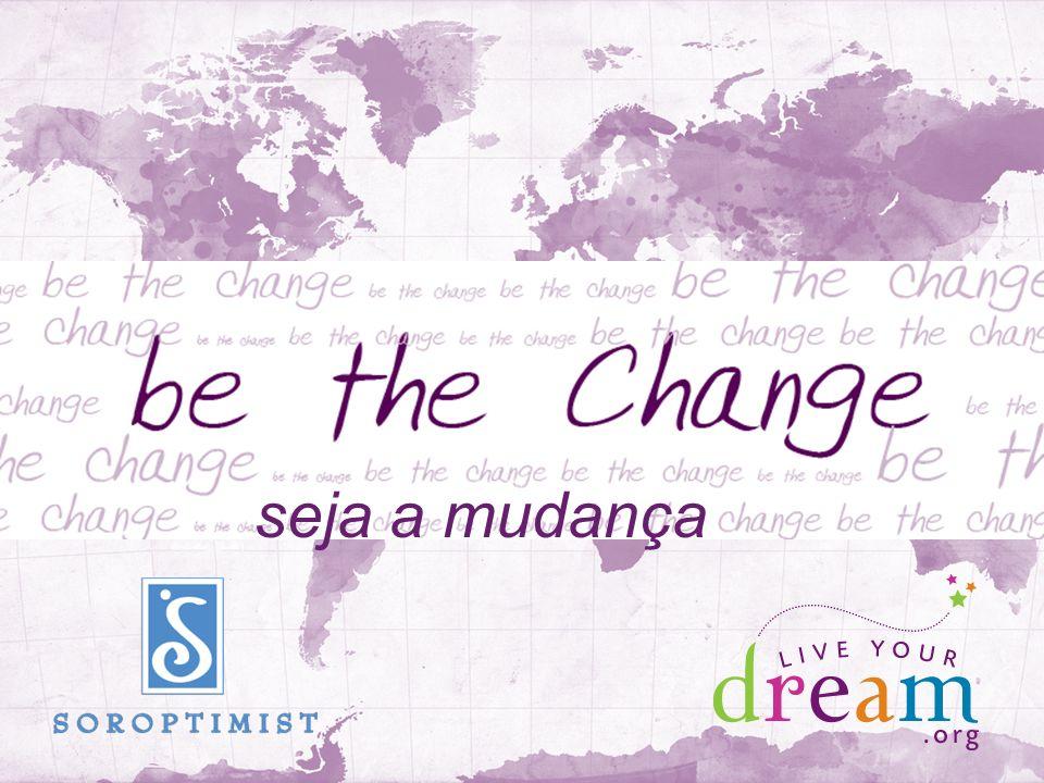 seja a mudança