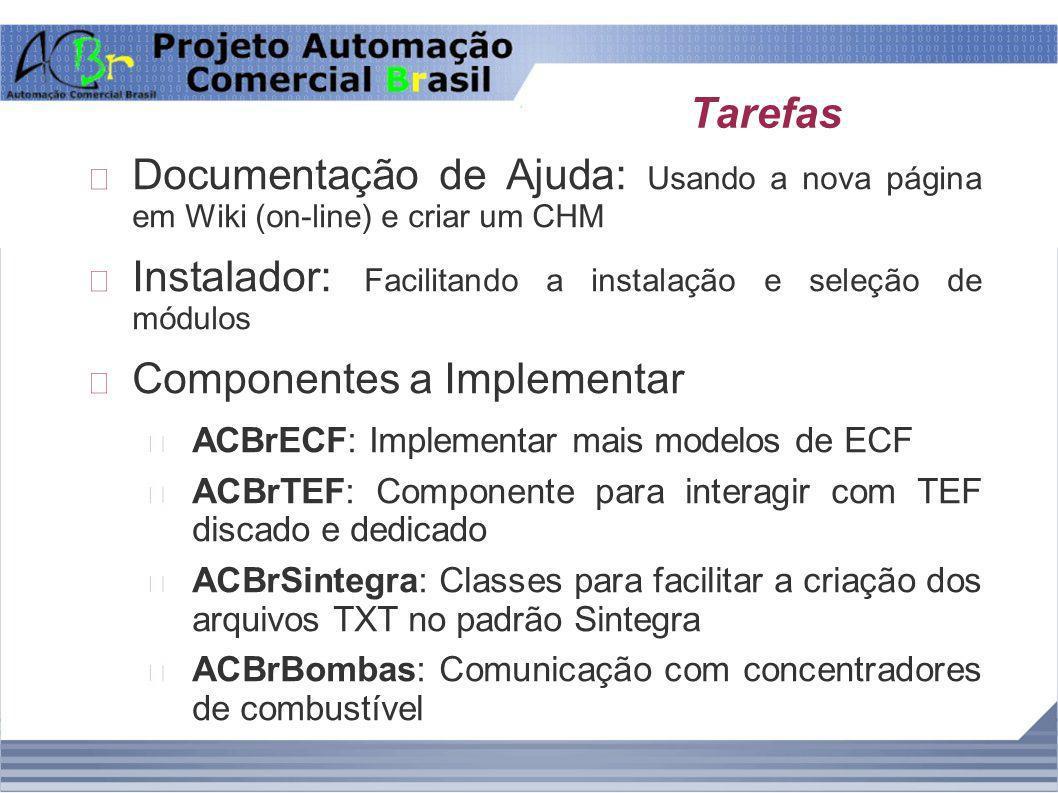 Instalador: Facilitando a instalação e seleção de módulos