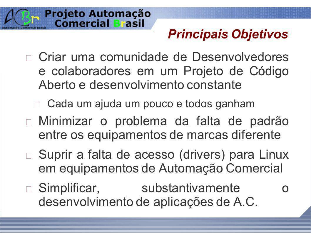 Simplificar, substantivamente o desenvolvimento de aplicações de A.C.
