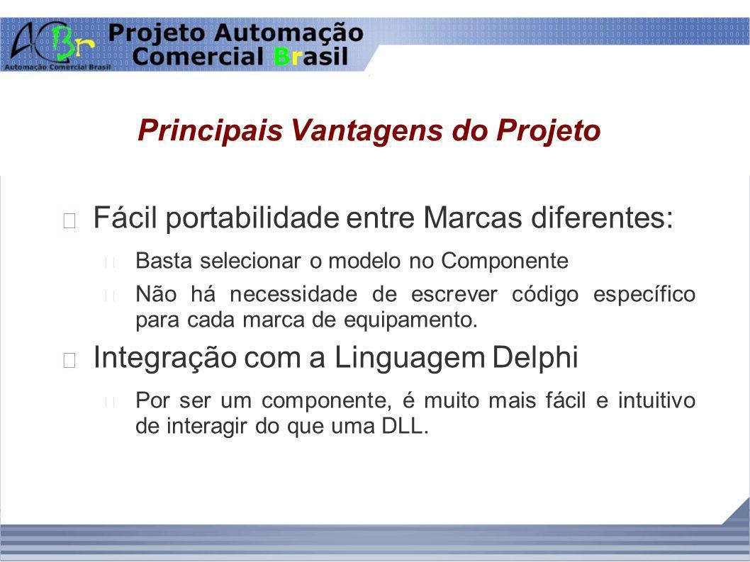 Principais Vantagens do Projeto