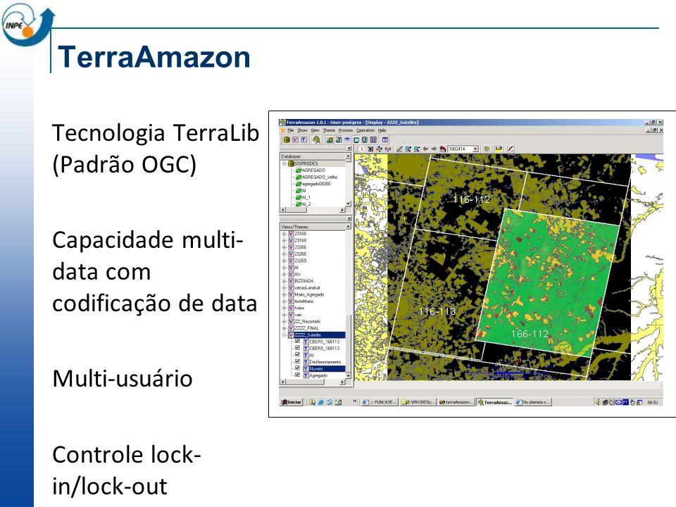 TerraAmazon Tecnologia TerraLib (Padrão OGC)
