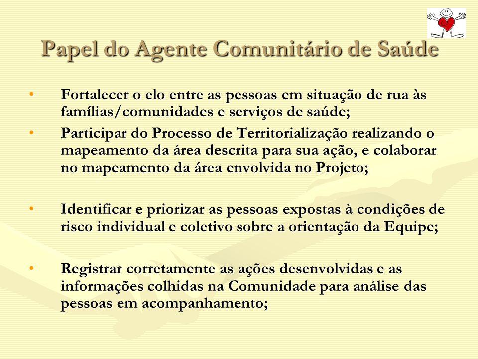Papel do Agente Comunitário de Saúde
