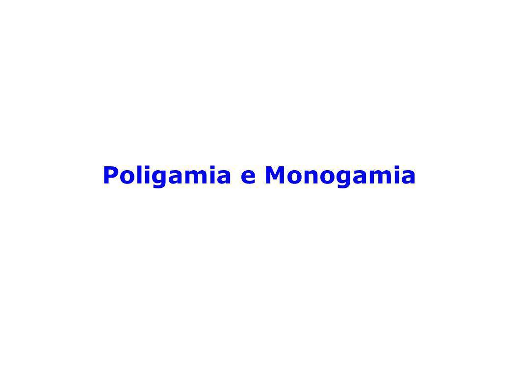 Poligamia e Monogamia