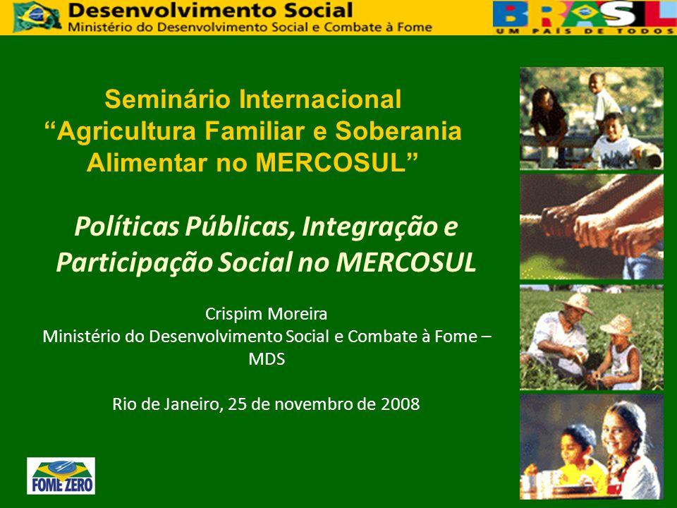 Seminário Internacional Agricultura Familiar e Soberania Alimentar no MERCOSUL