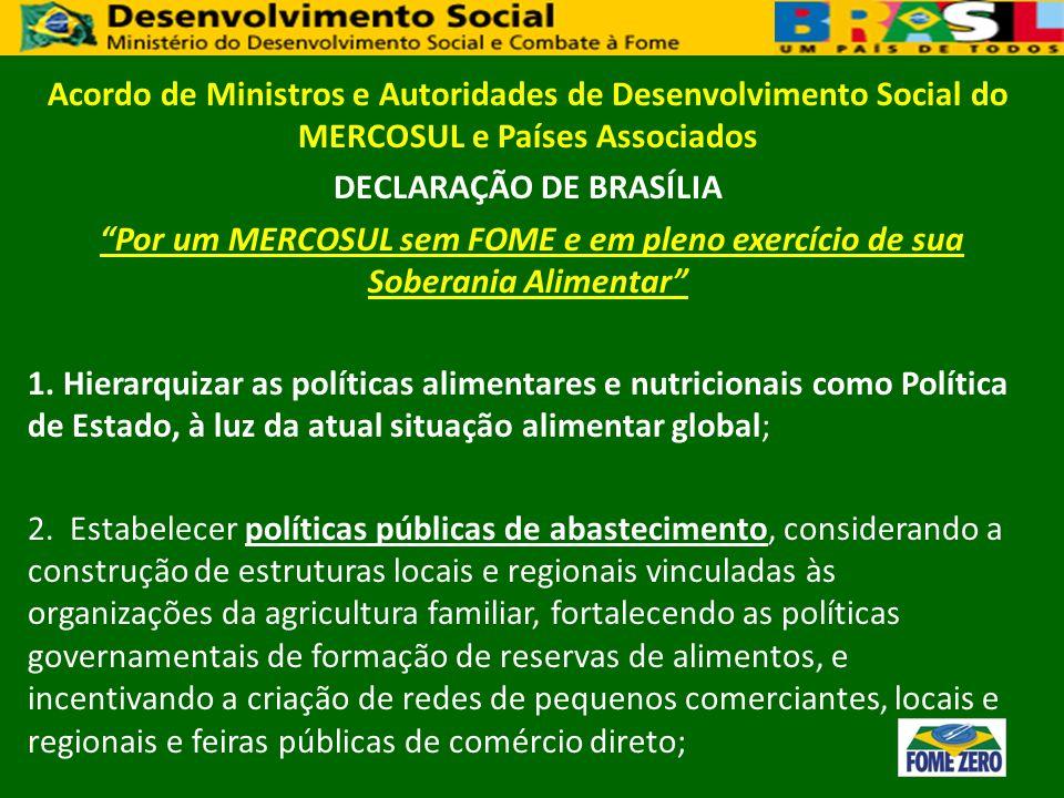 DECLARAÇÃO DE BRASÍLIA