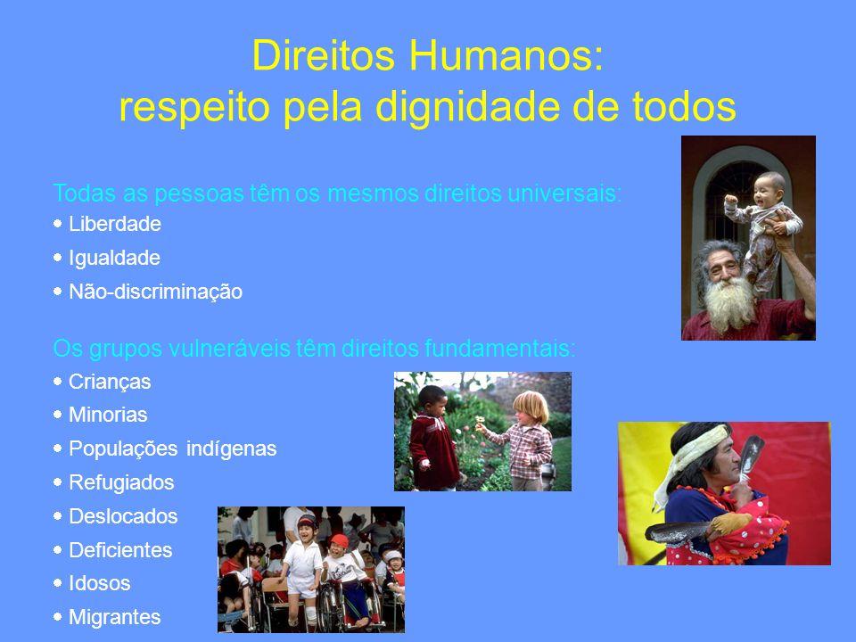 Direitos Humanos: respeito pela dignidade de todos