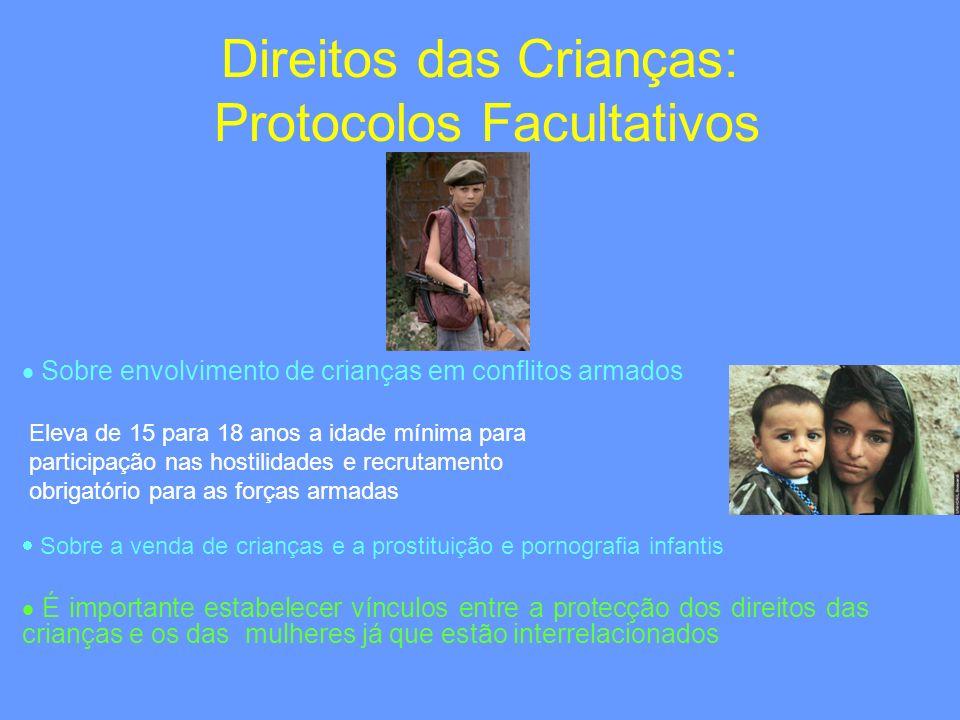 Direitos das Crianças: Protocolos Facultativos