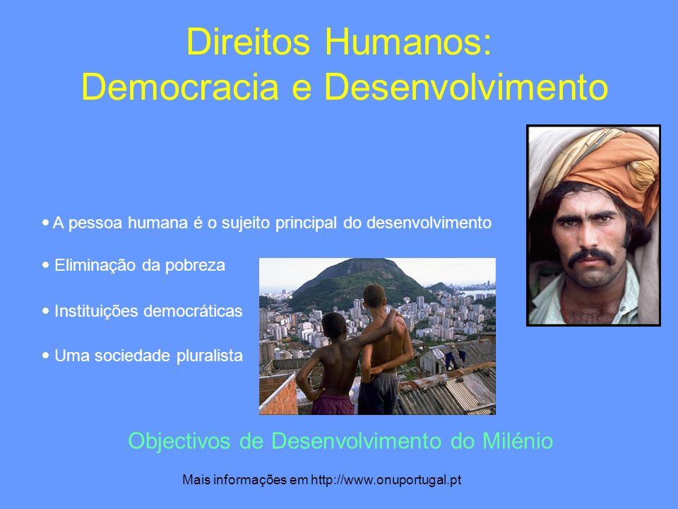 Direitos Humanos: Democracia e Desenvolvimento